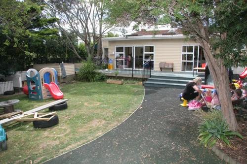 Childcare centre playground