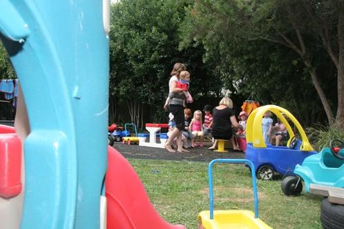 nursery school play area